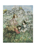Easter Eggs Giclee Print by Edward Atkinson Hornel