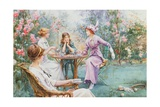 An Interested Audience Giclee Print by Charles MacIvor or MacIver Grierson