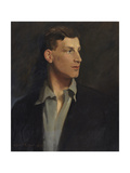 Portrait of Siegfried Sassoon (1886-1967) 1917 Giclee Print by Glyn Warren Philpot