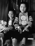 Children of the Mushur Daeng Tribe Photographic Print