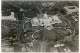Aerial Photo of the Capitol Building, Taken from the LZ 127 Graf Zeppelin, Washington 1928 Photographic Print by  German photographer