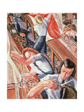 Parachute Riggers, 1947 Giclee Print by Paraskeva Plistik Clark