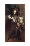 Mademoiselle Lanthelme, 1907 Giclee Print by Giovanni Boldini