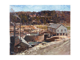 The New Gogh Gold Mine, 1917 Giclee Print by Robert Gwelo Goodman