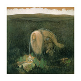 A Forest Troll, c.1913 Giclee Print by John Bauer