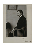 Portrait of Hugo Von Hofmannsthal (1874-1929) Austrian Poet and Playwright and Librettist for the… Giclee Print