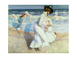 Boulogne Sands Giclee Print by Sir Walter Russell