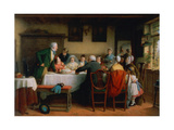 The Wedding Breakfast Giclee Print by Frederick Daniel Hardy