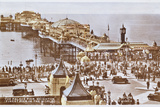 Postcard Depicting the Palace Pier at Brighton, Pre.1914 Photographic Print by  English School