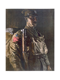 The Rifle Brigade, from British Artists at the Front, Continuation of the Western Front, Part… Giclee Print by Eric Henri Kennington