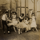 Dancers, 1900 Photographic Print by  English Photographer