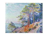 St. Tropez, the Custom's Path, 1905 Giclee Print by Paul Signac