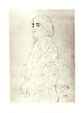 Standing Robed Lady, c.1916 Giclee Print by Gustav Klimt