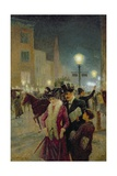 Edwardian London, 1901 Giclee Print by Eugene Joseph McSwiney