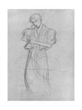 Standing Robed Woman, 1903 Giclee Print by Gustav Klimt