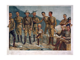 A General Group, Published by 'Vanity Fair' 1900 Giclee Print by Leslie Matthew Ward