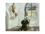 Breton Woman at Prayer Giclee Print by Christopher Wood