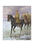 General John J. Pershing (1860-1948) Giclee Print by Jan Van Chelminski