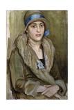 Portrait of a Lady Giclee Print by William Edward Wigley