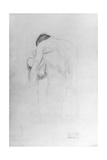 Man and Woman, Study for 'Beethovenfries', 1902 Giclee Print by Gustav Klimt