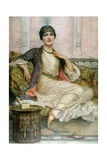 The Jade Necklace, 1908 Giclee Print by William Clark Wontner