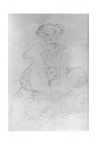 Seated Woman, 1916 Giclee Print by Gustav Klimt