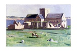 Iona Cathedral, c.1920s Giclee Print by Francis Campbell Boileau Cadell