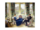 The Morning Room, c.1907 Giclee Print by Sir Walter Russell