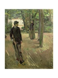 Young Boy Playing Croquet Giclee Print by Georges Cresson