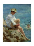 Boys Bathing, 1908 Giclee Print by Henry Scott Tuke