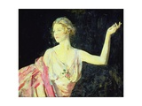 Lady Diana Cooper, 1915 Giclee Print by Ambrose Mcevoy