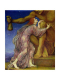 The Worship of Mammon, 1909 Giclee Print by Evelyn De Morgan
