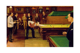 A Snooker Match Giclee Print by Jos McInnes