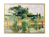 The Water Garden, Easton Lodge, Near Great Dunmow, Essex, 1909 Giclee Print by Walter Crane