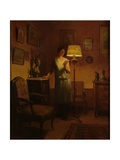 Lady in an Interior Giclee Print by Marcel Rieder