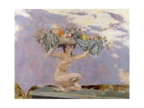 Iris, c.1915 Giclée-tryk af Charles Sims