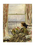 A Chelsea Window, 1909 Giclee Print by Philip Wilson Steer