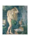 Russian Venus, 1925-26 Giclee Print by Boris Mihajlovic Kustodiev