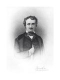 Portrait of Edgar Allan Poe (1809-49) Giclee Print by Ismael Gentz