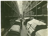 Part of the Jacquard Card Room, Carpet Factory, 1923 Photographic Print by  English Photographer