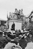 Lord Salisbury Accepts the Statue, from an Article Entitled 'A Memorial of a Great Life: The… Photographic Print by  English Photographer