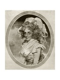 Sarah Siddons, Engraved by Peltro W. Tomkins, from 'The Print-Collector's Handbook' by Alfred… Giclee Print by John Downman