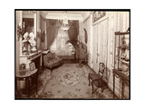 A Small Room in the Mrs. Leslie Carter Residence in New York, 1904 Giclee Print by  Byron Company