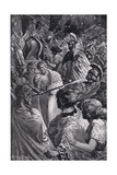 The Sack of Olynthus in 348 Bc, Illustration from 'Hutchinson's History of the Nations', 1915 Giclee Print by Bernard Granville-Baker