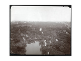 View of Central Park from the Plaza Hotel, 5th Avenue and 59th Street, New York, c.1907 Giclee Print by  Byron Company
