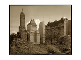 View of the Savoy Plaza Hotel, 59th Street and Fifth Avenue, New York, c.1937 Giclee Print by  Byron Company