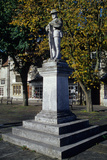 World War I Memorial in the Town Square Photographic Print by  English School