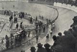 Six Day Race, Paris, 1927 Papier Photo par  French Photographer