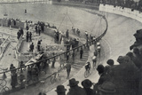 Six Day Race, Paris, 1927 Photographic Print by  French Photographer