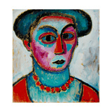 Head of a Woman, c.1912 Giclee Print by Alexej Von Jawlensky